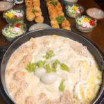 鶏肉団子とかぶの豆乳スープ(6人分)
