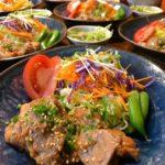 豚肉の味噌漬け焼き(7人分)