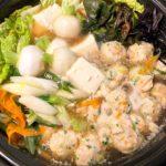 鍋の鶏団子(18個位)