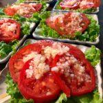 新玉ねぎソースの冷やしトマト(7人分)