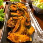 かぼちゃのガーリック醤油焼き(7人分)