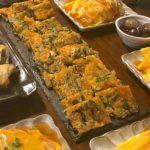 ニラキムチーズチヂミ(7人分)